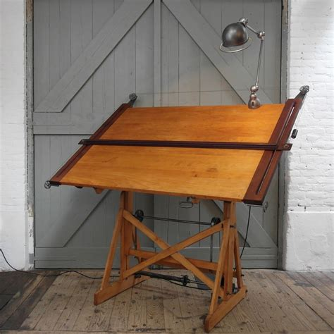 vintage drafting table vintage drafting table plans flapjack design antique