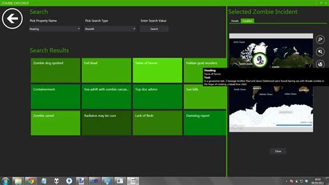xaml layout types zombie explorer an n tier application from top to bottom