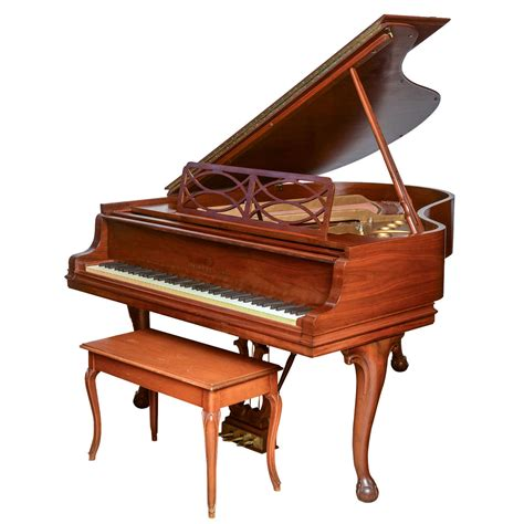 piano with bench steinway and sons grand piano with bench at 1stdibs