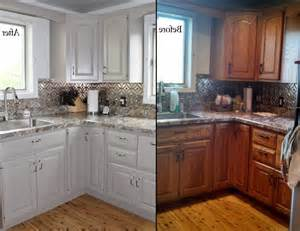 refinish kitchen cabinets before and after before and after photos refinishing cabinets