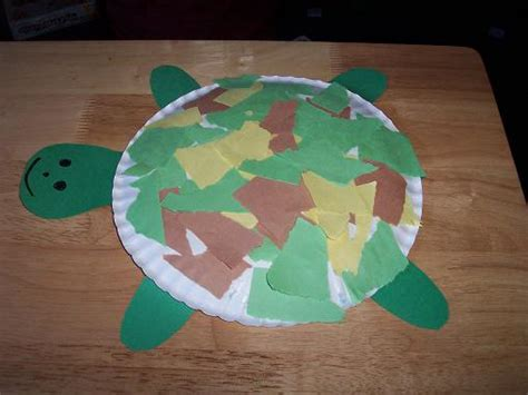 Turtle Paper Craft - turtle crafts for