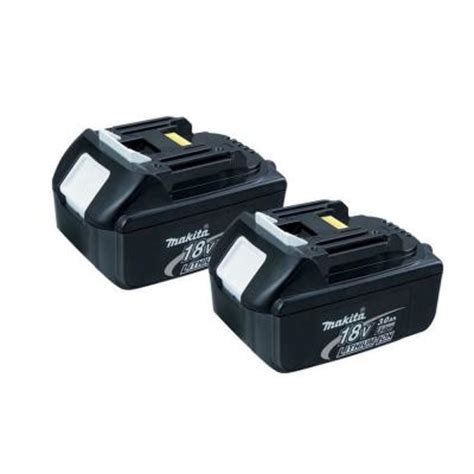 makita 18 volt lxt 3 0ah lithium ion battery 2 pack