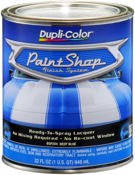 dupli color paint shop dupli color paint shop blue metallic 32 oz dupbsp204