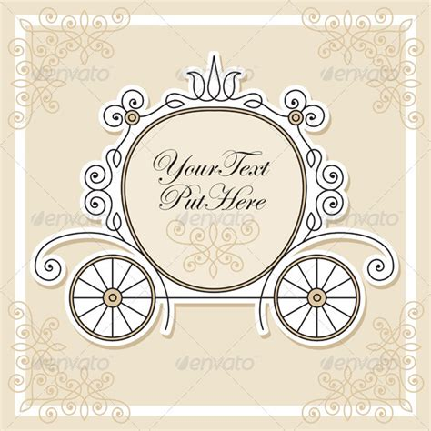princess carriage template cinderella carriage template car interior design
