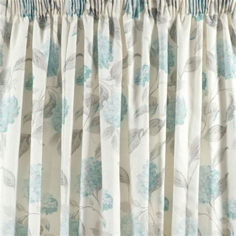 ready made curtains usa hydrangea duck egg pencil pleat ready made curtains