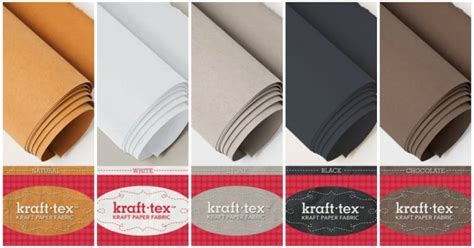 How To Make Fabric Stiff Like Paper - mrs h the using kraft tex for bags sewing for