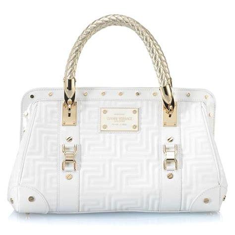 Versace Medium Mirror Purse by Versace Medium Patent Leather Satchel Handbag