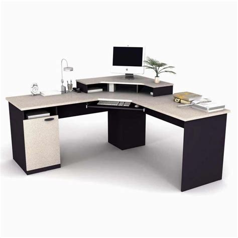 Small Work Desk Small U Shaped Desk Pueblosinfronteras Throughout Small U Shaped Desk Home Office Furniture