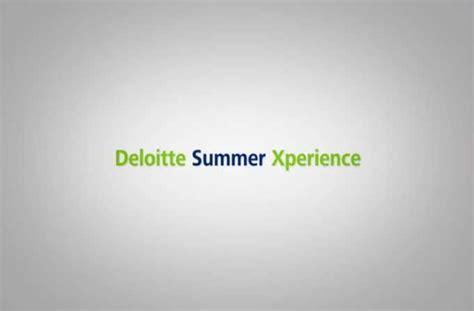 Mba Federal Deloitte Summer Associate by Pr 225 Cticas De Verano Deloitte Summer Xperience