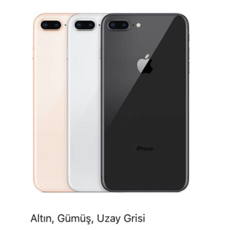 iphone 8 plus 64gb iphone 8 plus 64gb spot t 252 m renkler sınırlı