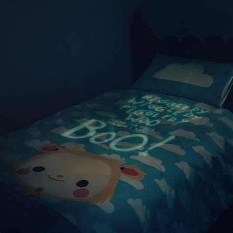 glow in the bedding safety blankets