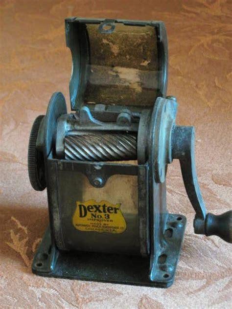 dexter  pencil sharpener collectors weekly