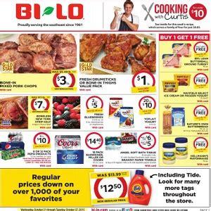 bi lo weekly ad circular specials