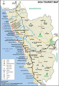 Goa India Map by Goa Map Map Of Goa India India Maps Maps India Maps Of