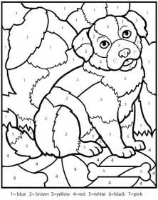 coloring pages with numbers numbers coloring pictures for