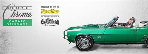Havoline Car Giveaway - check out the havoline bad to the chrome giveaway on