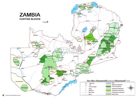 zambia map zambia areas map