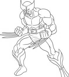 wolverine coloring pages free printable wolverine coloring pages for