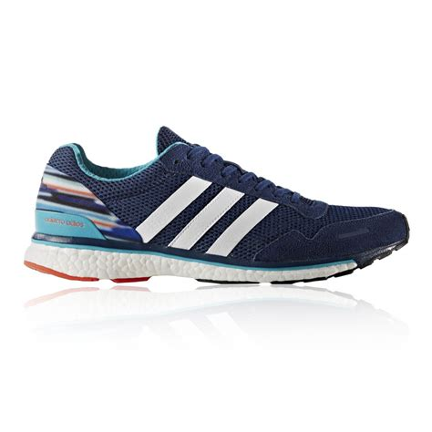 addidas sports shoes for adidas adizero adios 3 mens blue sneakers running sports
