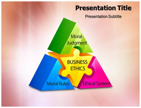powerpoint templates for business ethics inconversation on enterprise ethics gh