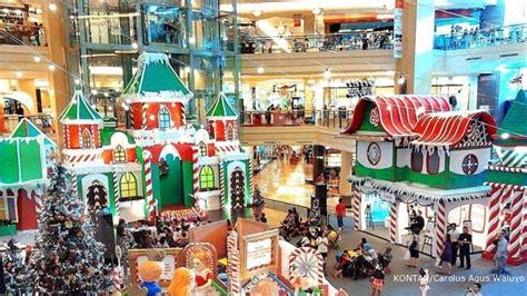 Lu Dekorasi Natal menikmati rezeki dari berbagai selebrasi di mal