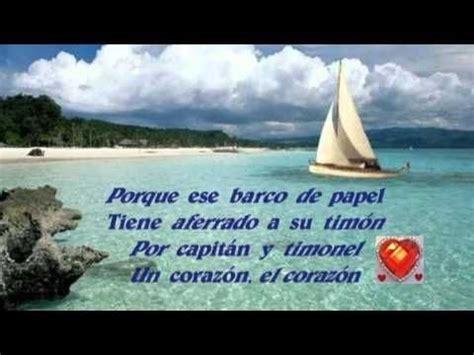 un barco fragil de papel alberto cortez letra 1000 images about m 250 sica on pinterest tes amor and