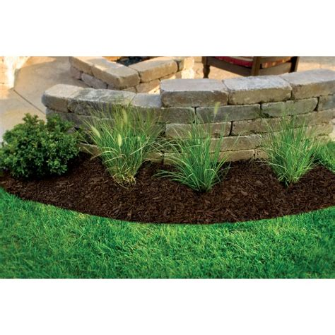 Landscape Rock Lowes Shop Rubberific 0 8 Cu Ft Brown Shredded Rubber Mulch