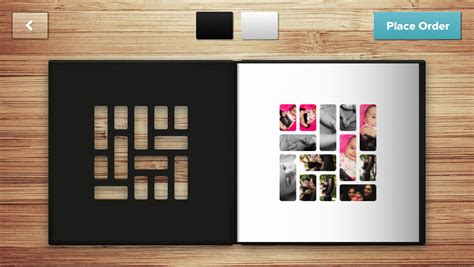 coffee table book design and layout mosaic for iphone lets you build beautiful printed photo books