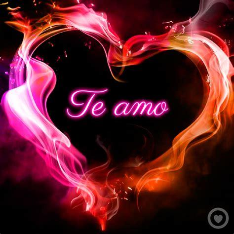 Imagenes En 3d Te Amo | frase de te amo con imagen de coraz 243 n 3d