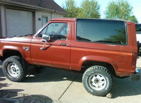 Ford Probe Interior 1986 Ford Bronco Ii Pictures Cargurus