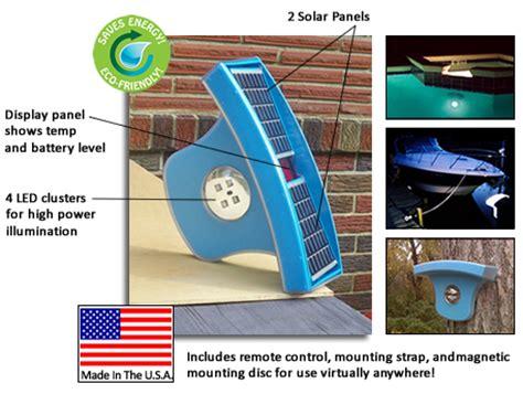solar pool lights for inground pools pool light solar powered led light for inground and