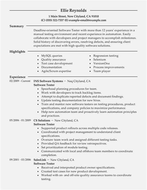 quality assurance resume sample pdf letter of cover for qa tester