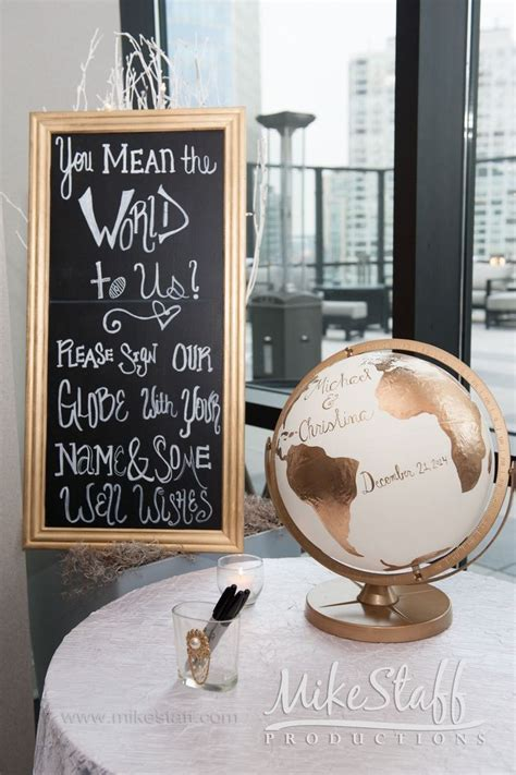17 Best ideas about Globe Guest Books on Pinterest
