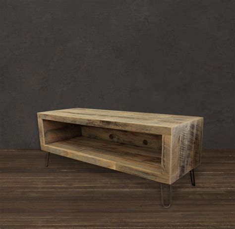 long reclaimed wood media cabinet reclaimed wood media console stand 56 quot long