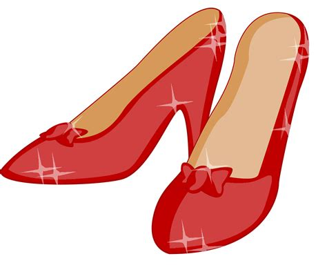 ruby slippers clipart sneakers clipart slipper pencil and in color sneakers