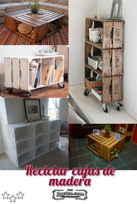 reciclar cajones de madera reciclar cajas de madera manualidades