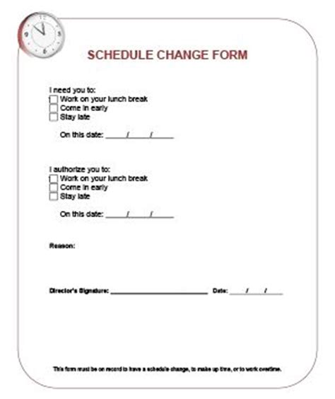 Request Letter Sle Change Work Schedule Request Letter For Change Of Time Schedule How To