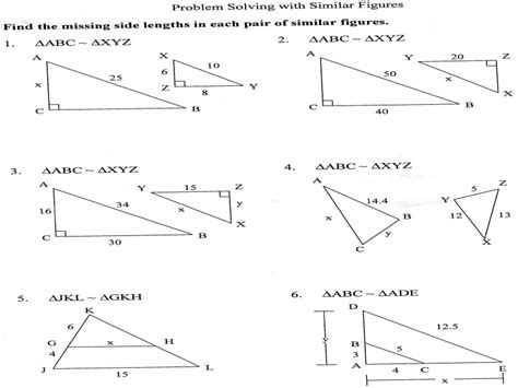 Similar Figures Worksheet 7th Grade by Geometry Scale Factor Worksheet Worksheets Guillermotull