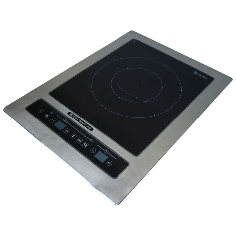Induction Cooktop Equipex Dric 3000 Drop In Commercial Induction Cooktop W 1 Burner 3 0 Kw 208 240v 1ph