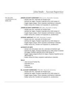 most professional resume template 5 best sles resume objective exles sles of cv