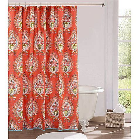 anthology bungalow shower curtain kalani 72 inch x 72 inch fabric shower curtain at the