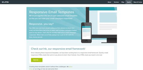 2017 Best Places To Find Brilliant Email Newsletter Templates Kgn It Solutions Responsive Email Template 2017