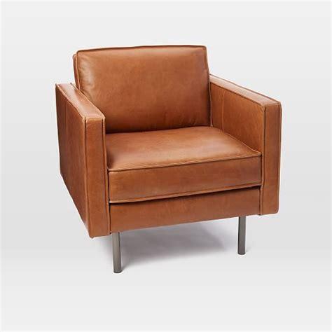 west elm armchair axel leather armchair west elm