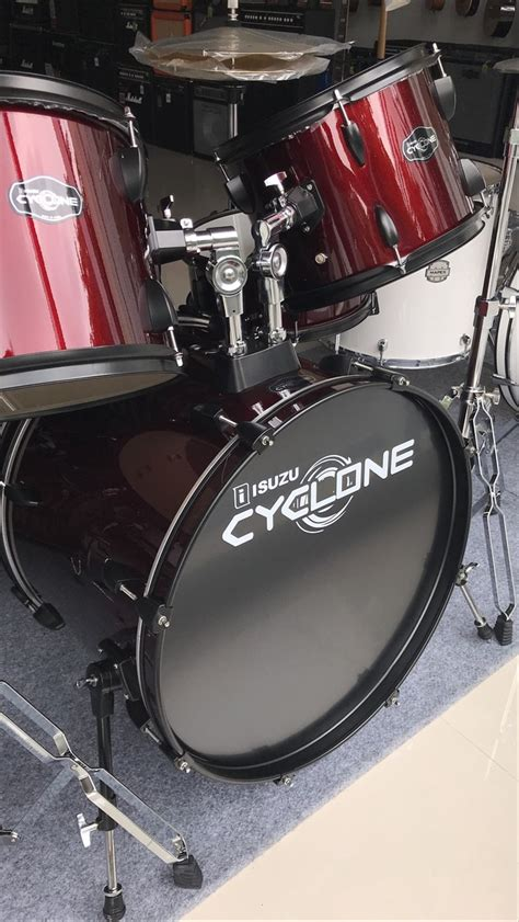 jual classic klasik drum isuzu cyclone red shiny drum