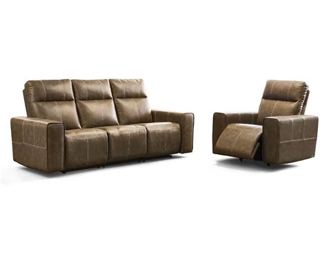 Elran Leather Sofa by Elran Living Room Reclining Condo Sofa Er40819 09