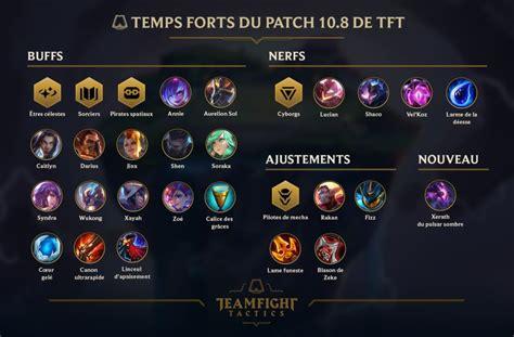 leagueoflegends patch  tft disponible fireteamfr