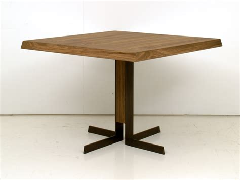 wooden dining table denver by interni edition design
