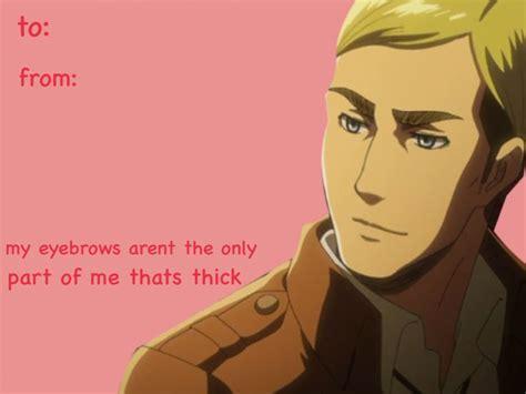 attack on titan valentines s day cards attack on titan shingeki no kyojin