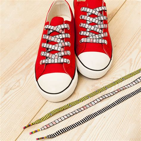 playing cards waves  stripes shoelaces pack  aces