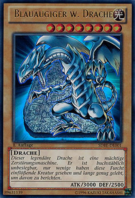 yo gi oh drachen deck blau 228 ugiger w drache saga of blue white